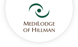 Medilodge of hillman web logo